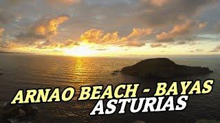 Arnao Beach - Playa de Bayas - Asturias - Amanecer + Puesta de sol