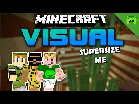 MINECRAFT Adventure Map # 83 - Visual Project 2 «» Let's Play Minecraft Together   HD