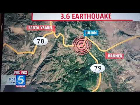 12/7/17 EARTHQUAKES and major fire's what's going on in CALIFORNIA GUYS??