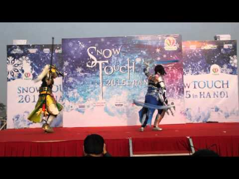 [SNOW TOUCH 2015 in HANOI] Dynasty warrior 8