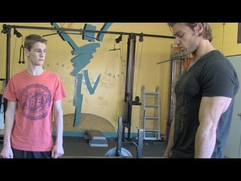Teen Beginners Bodybuilding 5×5 Strength Program