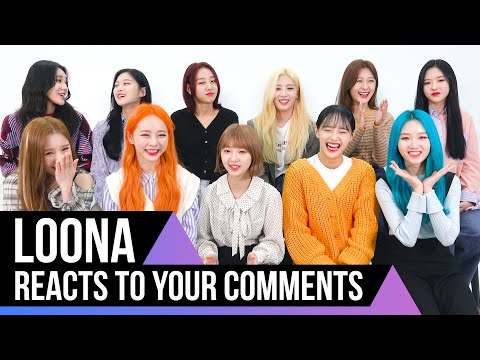 LOONA reads your Midnight comments [ENG CC]