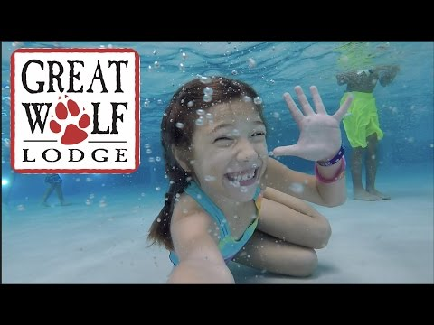Great Wolf Lodge (Anaheim, CA) For J's 4th Birthday