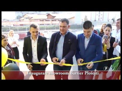 Inaugurare showroom Barrier Ploiești
