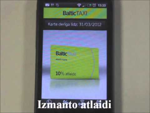 Video of BalticTAXI