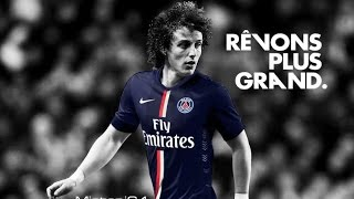 """David Luiz -PSG 2014-2015 best goals and skills, music Immediate Music ImperitumCopyright Disclaimer Under Section 107 of the Copyright Act 1976, allowance is made for """"fair use"""" for purposes such as criticism, comment, news reporting, teaching, scholarship, and  research. Fair use is a use permitted by copyright statute that might otherwise be infringing.  Non-profit, educational or personal use tips the balance in favor of fair use.David Luiz. Brésil 28 ans, Défenseur. David Luiz. Né le 22 avril 1987 à Diadema. Nationalité : Brésil 1m89 / 84 kg. Droitier Arrivé à Paris le 13/06/2014.Paris Saint-Germain defender David Luiz best goals in Champions League 2014-15, Ligue 1 and Coupe de FranceDavid Luiz buts contre FC Barcelona, contre Chelsea 11.03.2015, contre RC Lens, contre Monaco en Coupe de France, David Luiz funny moments 2015; David Luiz Rêvons Plus Grand"""