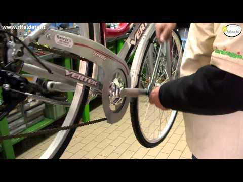 Montare smontare i pedali della bicicletta