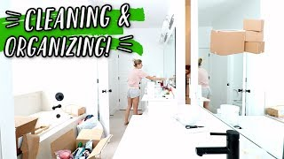 CLEANING & ORGANIZING OUR NEW HOUSE! by Aspyn + Parker