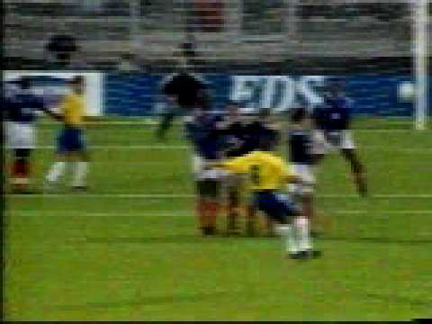 Bloopers Soccer Amazing Goal Around the Wall