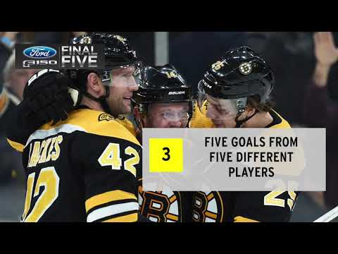 Video: Ford F-150 Final Five Facts: B's Crush Blues With Strong Third Period