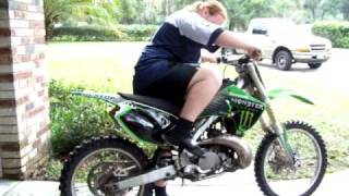 5. 2005 kx 250 2stroke