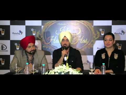 Download Press Conference | Ishq Haazir Hai | Diljit Dosanjh | Wamiqa Gabbi | Filmy Shots HD Video