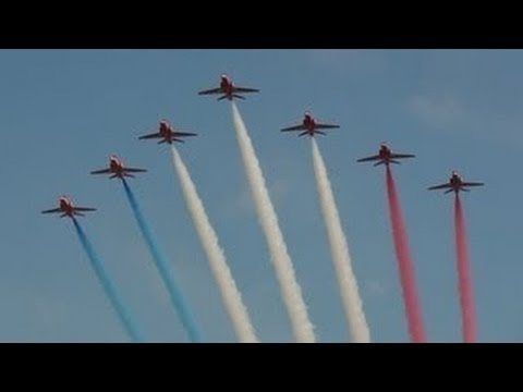 Red Arrows Airshow in Kuwait