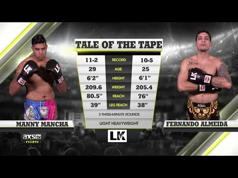 Kickboxen: Fight of the Week - Pure Kickboxing Chaos Between Manny Mancha & Fernando Almeida