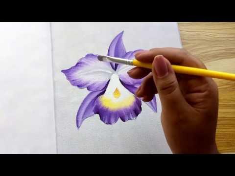 Orquídea Lilás