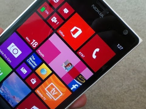 phonedog Aaron - Nokia Lumia 1520 Unboxing Nokia is joining the big leagues - literally - with the supersized Nokia Lumia 1520. The first phablet to run Windows Phone 8, the ...