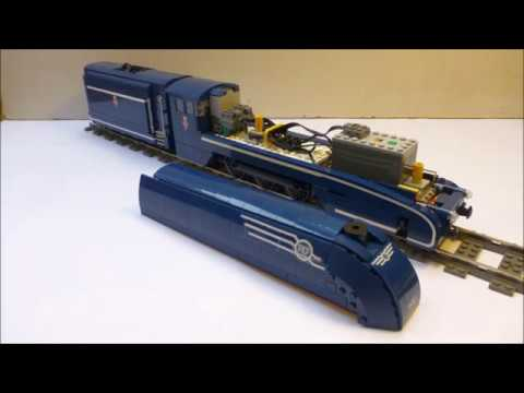 Lego Pm36-1 steam locomotive