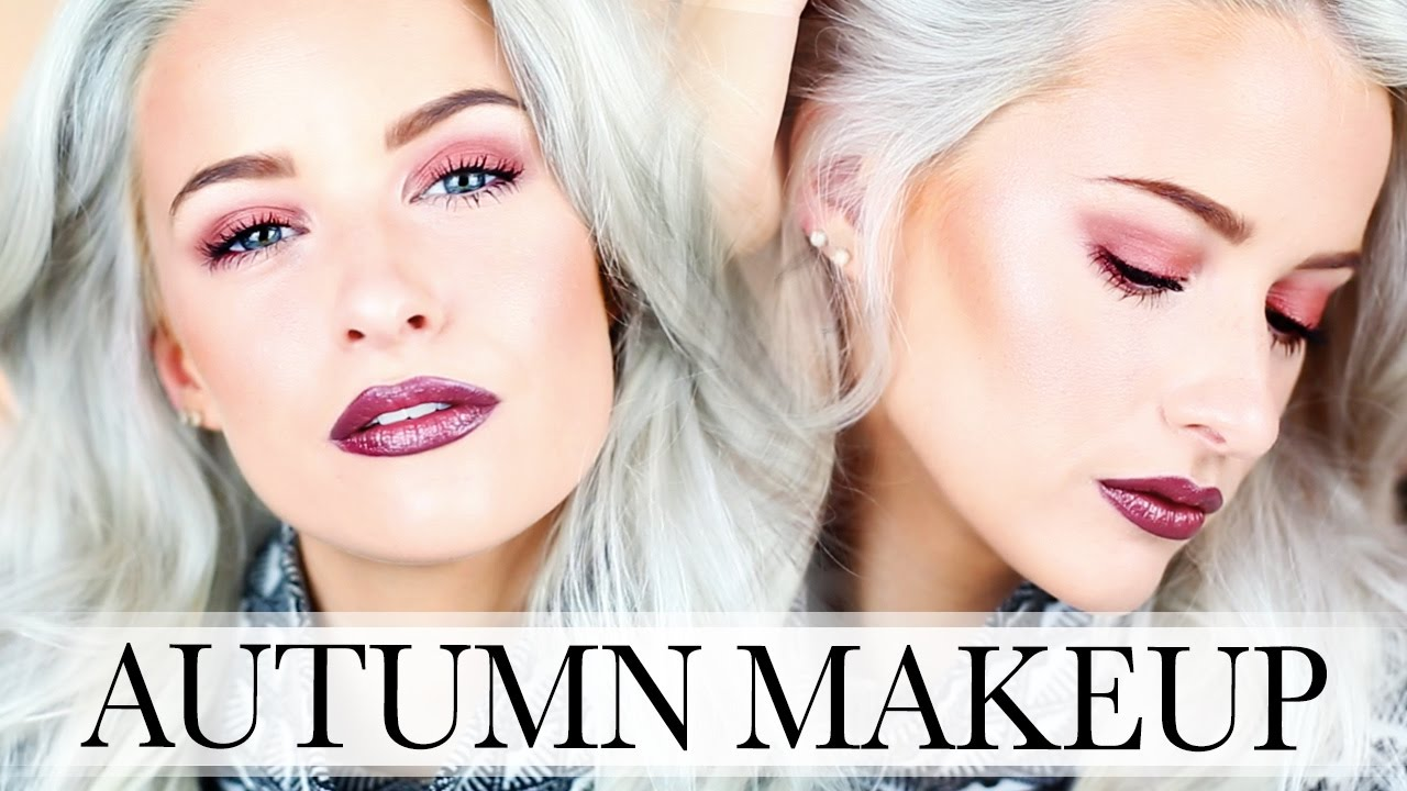 AUTUMN / FALL DRUGSTORE MAKEUP LOOK