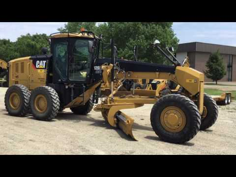 CATERPILLAR MOTOR GRADERS 120M2AWD equipment video nq9VZ3W12Rw