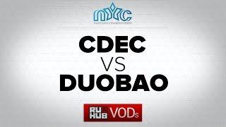 CDEC vs DUOBAO, game 1