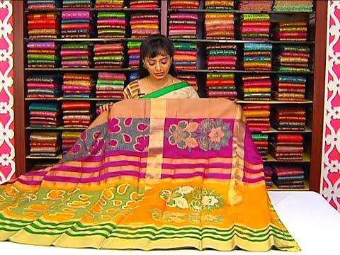 Latest Collection of all Varieties of Fancy Sarees | Sogasu Chuda Tarama | Vanitha TV 19 July 2015 02 34 PM