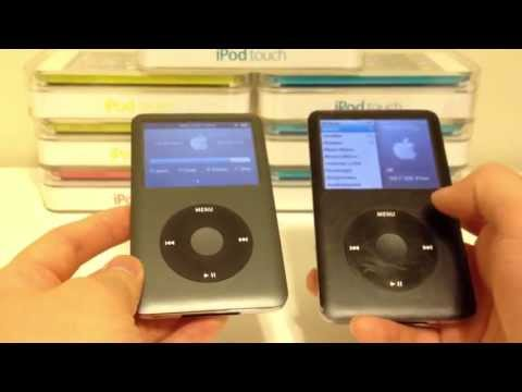 Apple iPod Classic 6th Generation Vs 7th Generation Comparison Difference