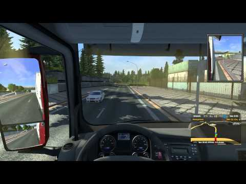 Man TGX open pipe sound mod