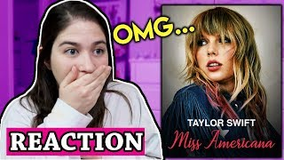 Video Taylor Swift's Miss Americana FULL REACTION and Review! download in MP3, 3GP, MP4, WEBM, AVI, FLV January 2017