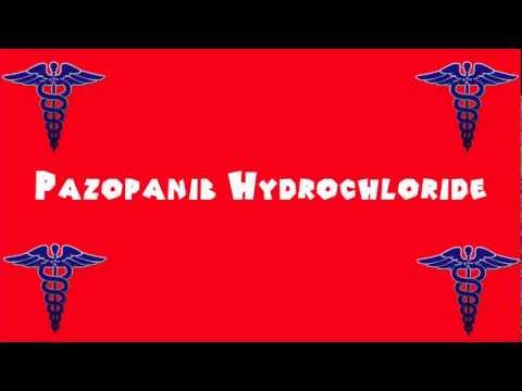 Pronounce Medical Words ― Pazopanib Hydrochloride
