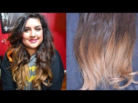 Ombre Hair sin maltratar tu cabello! (usando extensiones de cabello) DIY