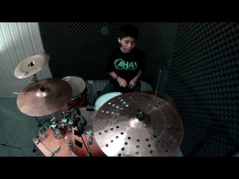 Steven Christian - Ahay Musik Indonesia - Eye Of The Tiger - Survivor - Drum Cover