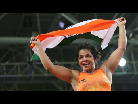 Sakshi Malik Wins Bronze Medal for India in Rio Olympics 2016 Wrestling