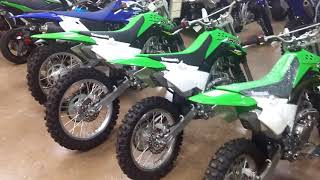 8. Comparison of Kawasaki KLX140 Family of Dirt Bikes
