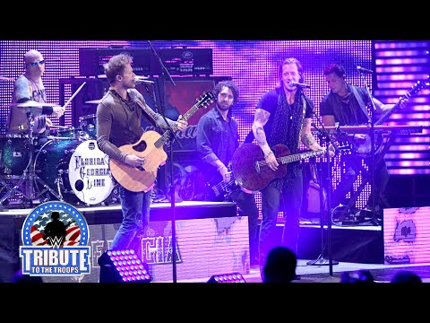fort - Multi-platinum recording artists and two-time CMA Vocal Duo of the Year winners, Florida Georgia Line perform at Fort Benning during WWE Tribute to the Troops. More ACTION on WWE NETWORK :...