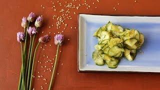 Japanischer Gurkensalat (Sunomono)