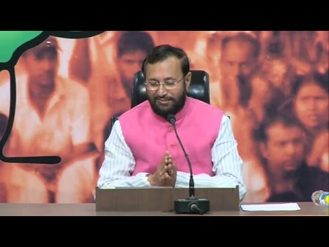 We congratulate Sanjay Nirupam for revealing the truth in Congress Darshan: Shri Prakash Javadekar