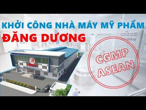 Khởi công xây dựng nhà máy sản xuất mỹ phẩm Đăng Dương