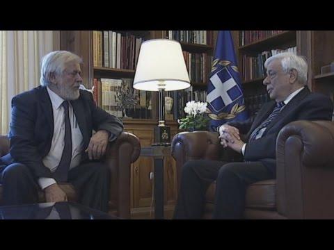 Συνάντηση ΠτΔ με τον Πρόεδρο της Ευρωπαϊκής, Οικονομικής και Κοινωνικής Επιτροπής