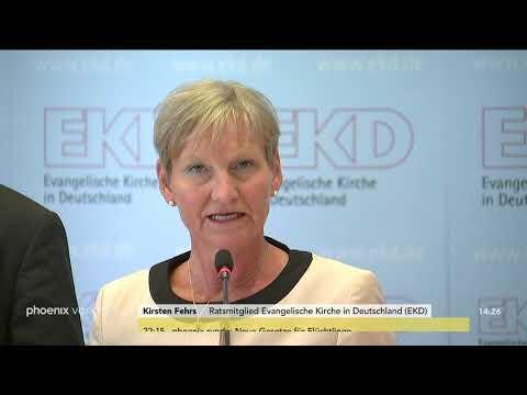 Pressekonferenz der Evangelischen Kirche zu Maßnahmen gegen sexuellen Missbrauch am 11.06.2019