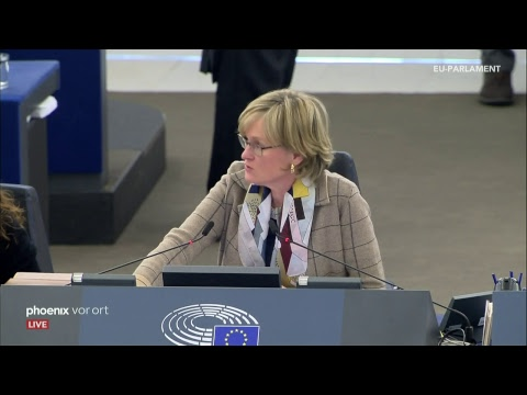Debatte im Europäischen Parlament am 13.02.2019 / phoen ...