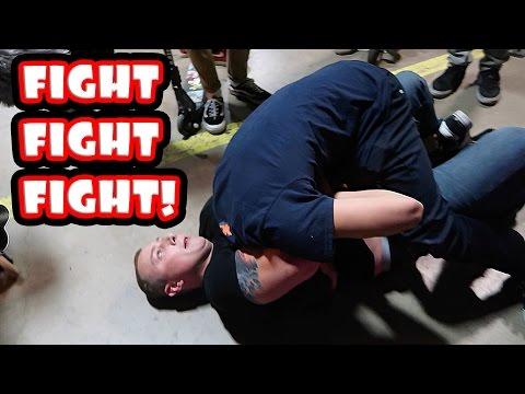 CRAZY DAY AT SKATEPARK (видео)