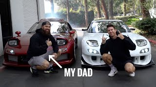 Father and Son REUNITED by their RX-7s! by TJ Hunt