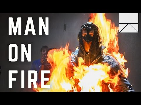How One Stuntman Prepares for Being Set on Fire