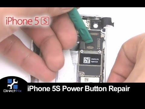 iPhone 5s Powerswitch Ein /Aus Schalter  Reparatur für € 19,00