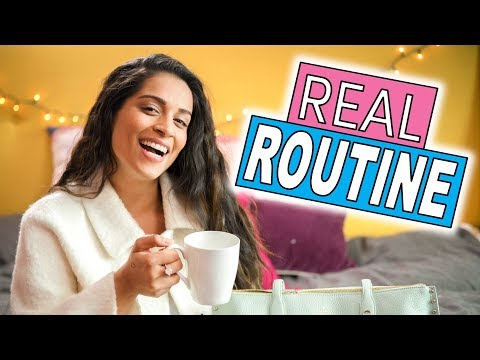 My REAL Morning Routine | Get Ready With Me! (видео)