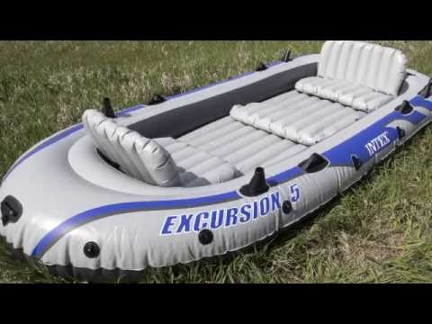 5 Person Inflatable Raft | Intex 68325EP