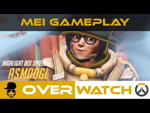 Overwatch - Mei - Eisige Zerstörerin [Gameplay][deutsch][german]