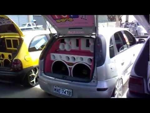 fest car 2011, Itabaiana - SE, muito som e carros rebaixados (part.1)