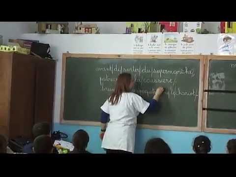 Leçon en langue française