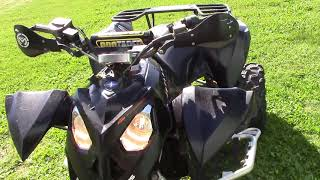 10. 2007 Polaris Outlaw 525 IRS - For Sale